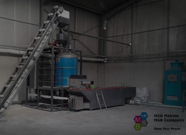 EPS/STRAFOR/KÖPÜK Auto-Batch 1100 Tip Şişirme Makinesi