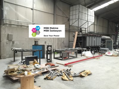 EPS/Strafor/Köpük Vakumlu Blok Makineleri (4 Metre) ve Ekipmanları