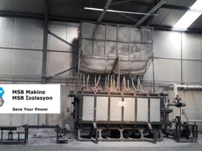 EPS/Strafor/Köpük Bloklama Makinesi 4 Metre - (Vakumlu)