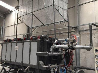 EPS/Strafor/Köpük Vakumlu Blok Makineleri
